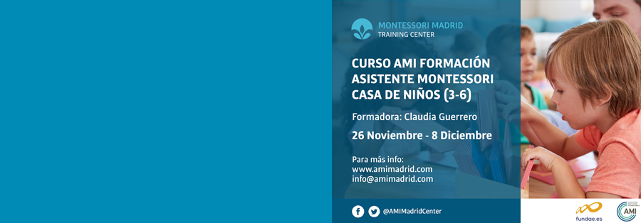 """CURSO DE ASISTENTES AMI """"CASA DE NIÑOS"""" (3 A 6 AÑOS)"""